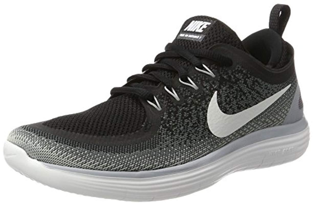 1eddd71c45f77 Nike Free Rn Distance 2 Running Shoes in Gray - Save 36% - Lyst