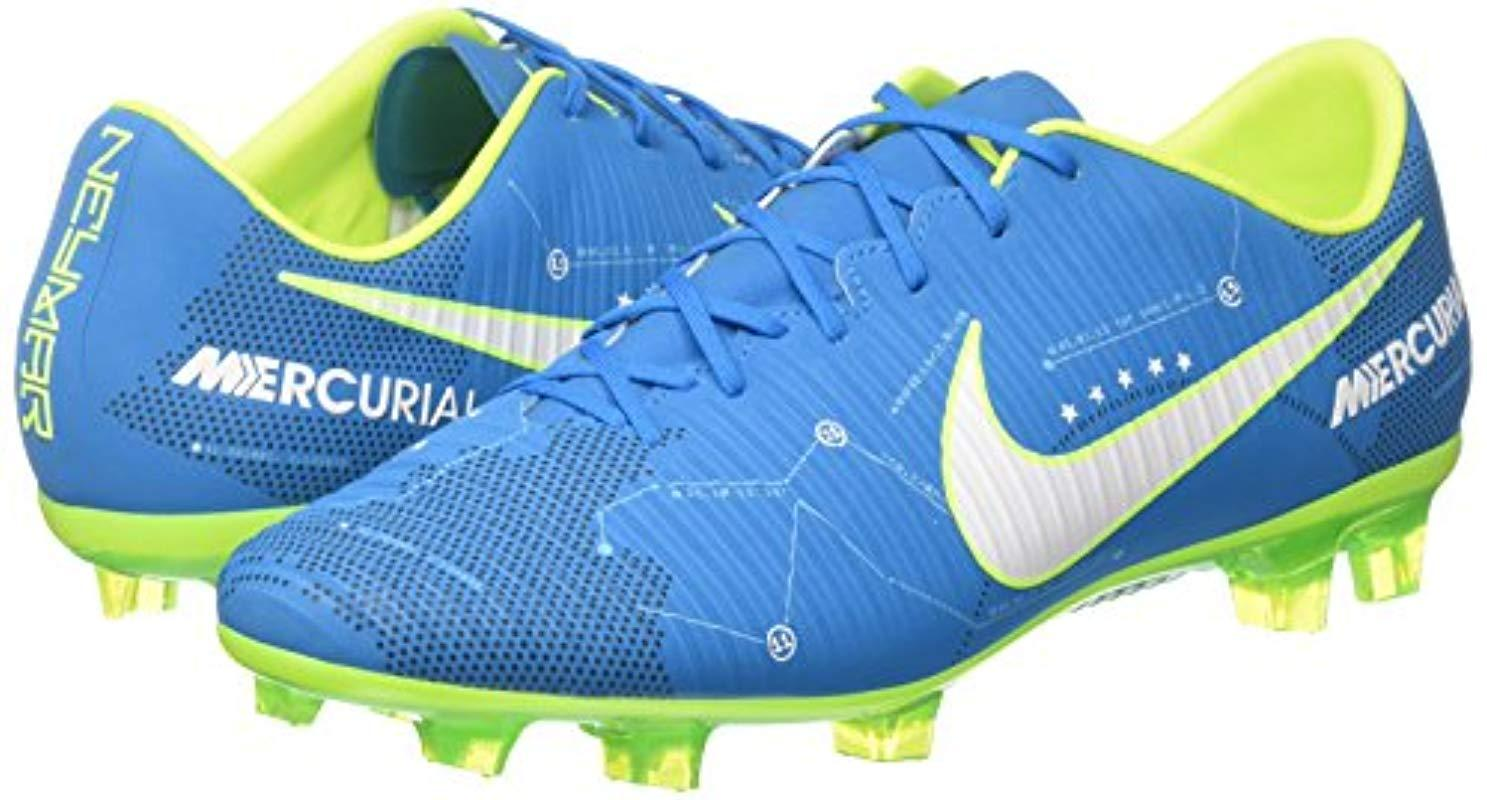 Nike Synthetic Mercurial Veloce Iii Njr Fg Footbal Shoes in Blue for Men