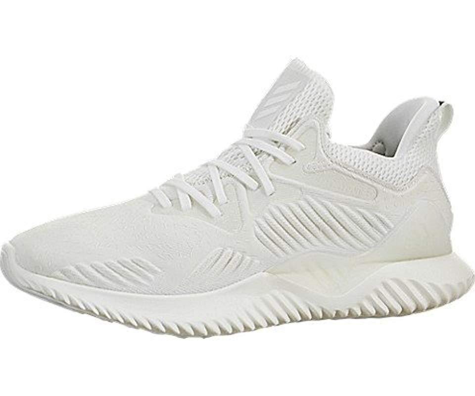 23f9b14fc918b Lyst - Adidas Alphabounce Beyond in White for Men