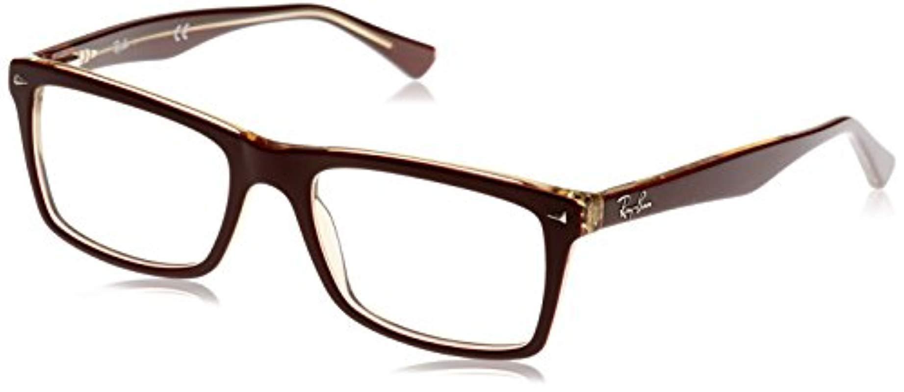 8e82a14ede Ray-Ban. Men s Black 5287 Optical Frames ...