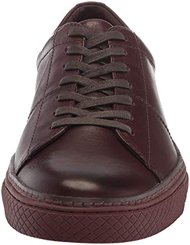 Frye Mens Essex Low Folded Edge Sneaker