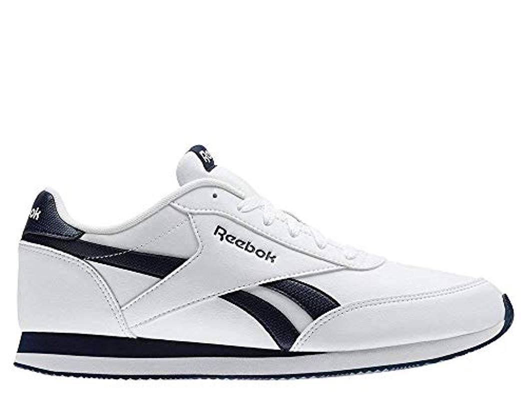 a46d9c1150522 Reebok Royal Cl Jog 2l Gymnastics Shoes in White for Men - Save 42 ...