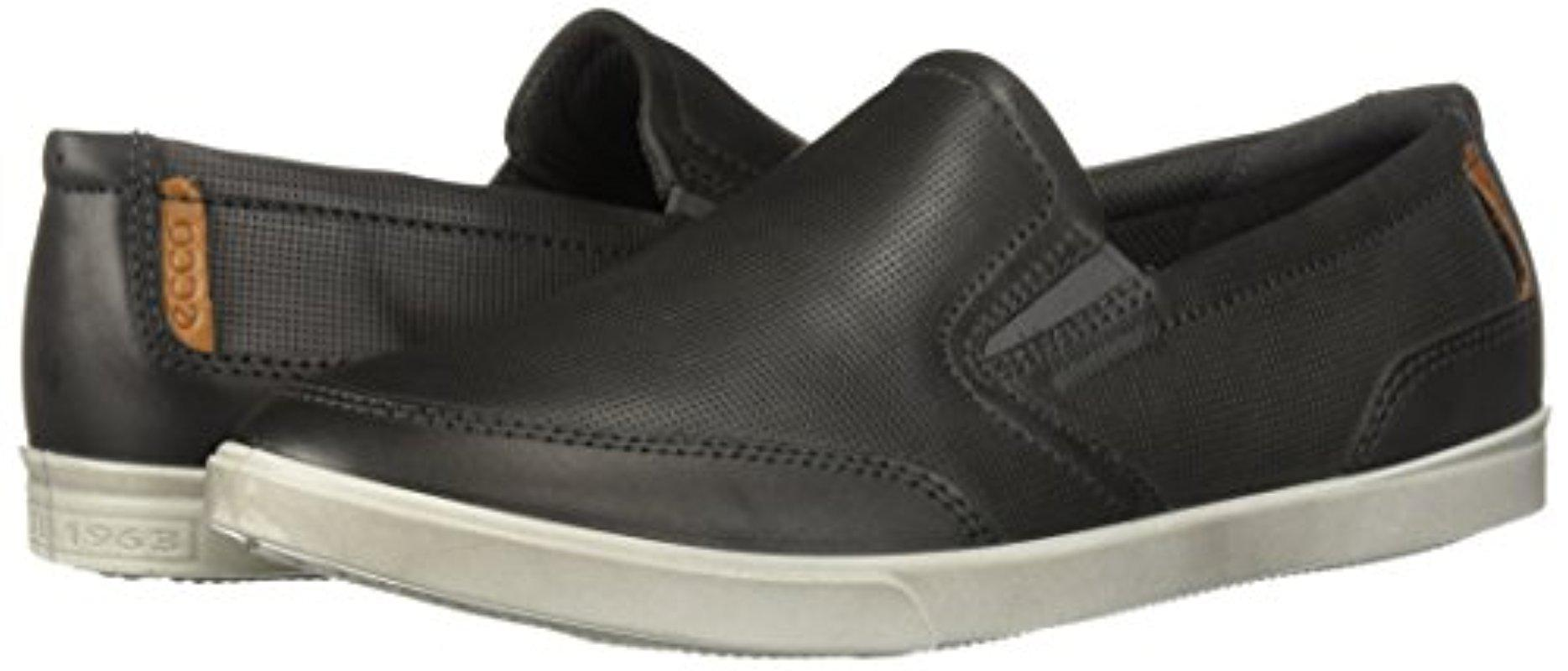 Ecco Collin Casual Slip On in Titanium