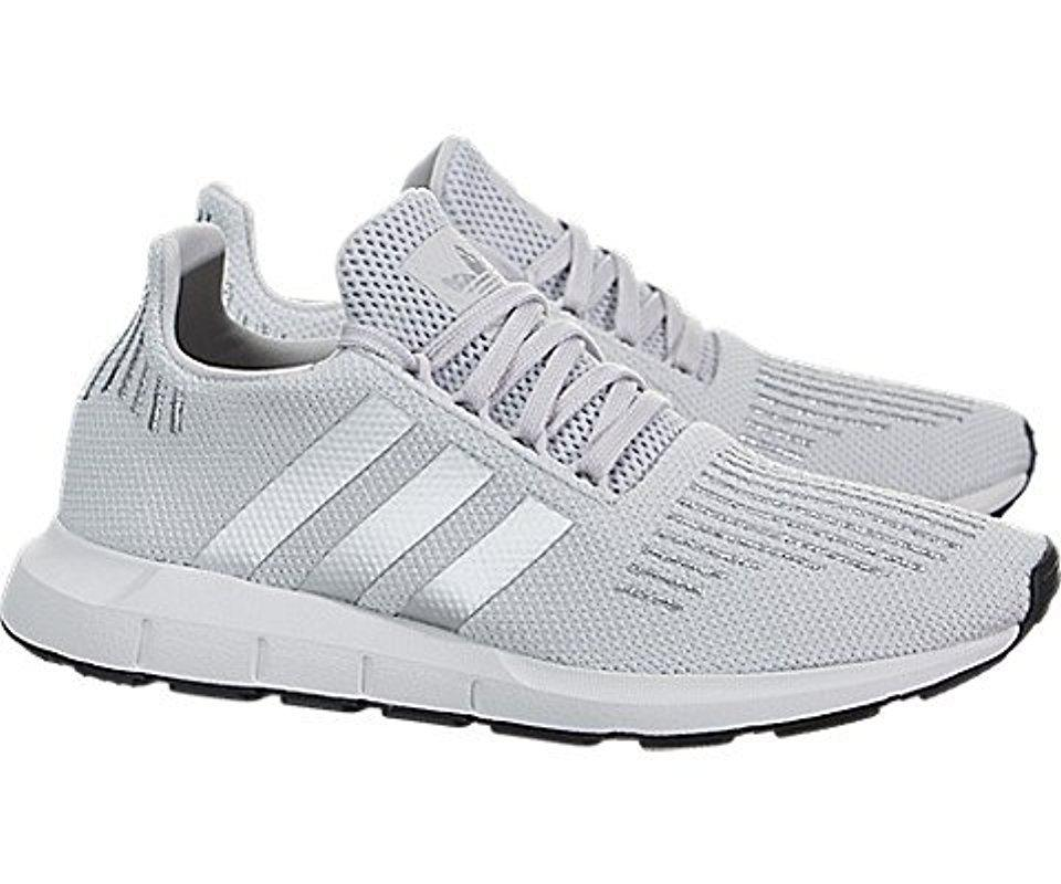 adidas swift run grey and silver off 63
