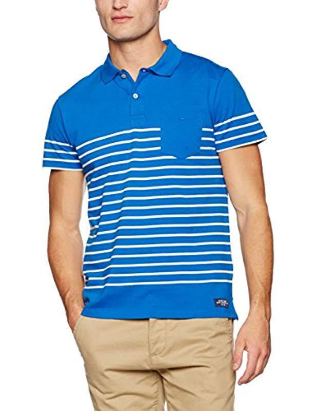 Pique Gant Ss Polo Shirt para Franela hombre Rugger bretona q8pUwWt