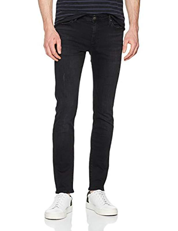 60cccec3b Tommy Hilfiger Simon Skinny Jeans in Black for Men - Lyst