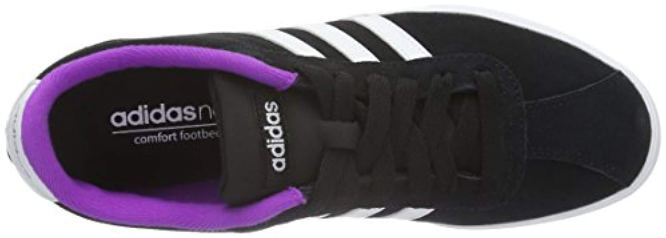 Courtset W, Zapatillas de Deporte para Mujer adidas de color Negro