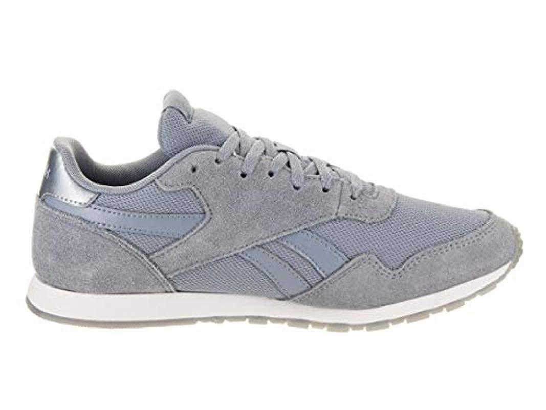 Reebok Multicolor Royal Ultra Sl Sneaker, Rain Cloudfrostbite Metallicwhite, 7 M Us
