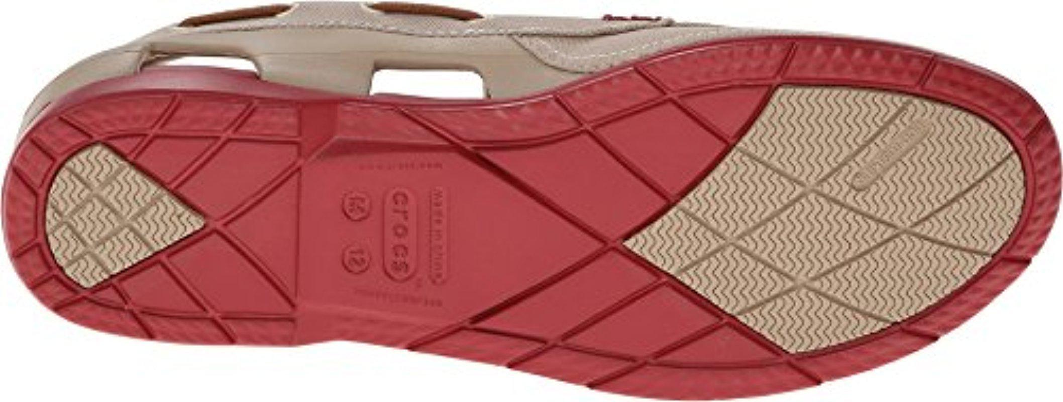 6f891a6fb Lyst - Crocs™ Beach Line Boat Shoe for Men