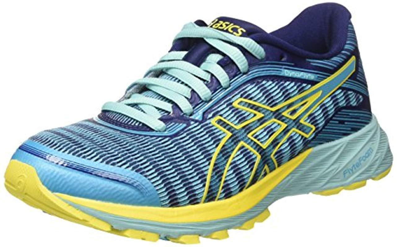 sale retailer eb25d fbcfc Asics Dynaflyte Running Shoes in Blue - Save 39% - Lyst
