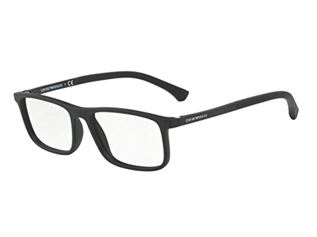Ray-Ban 0ea3125 Optical Frames, (black Rubber), 53 in Black for Men ... cd8686c5ece3
