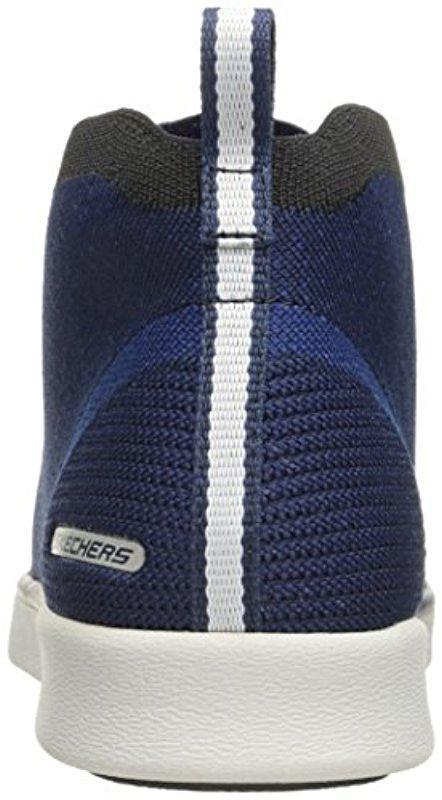 a632724f8f5e Lyst - Skechers Usa Boyar Taction Oxford in Blue for Men