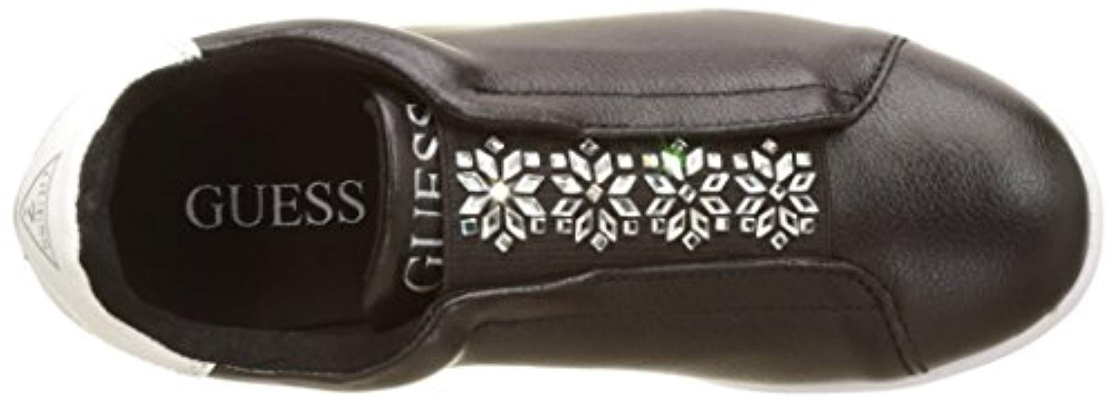 Steffi, Zapatillas de Tenis para Mujer Guess de color Negro