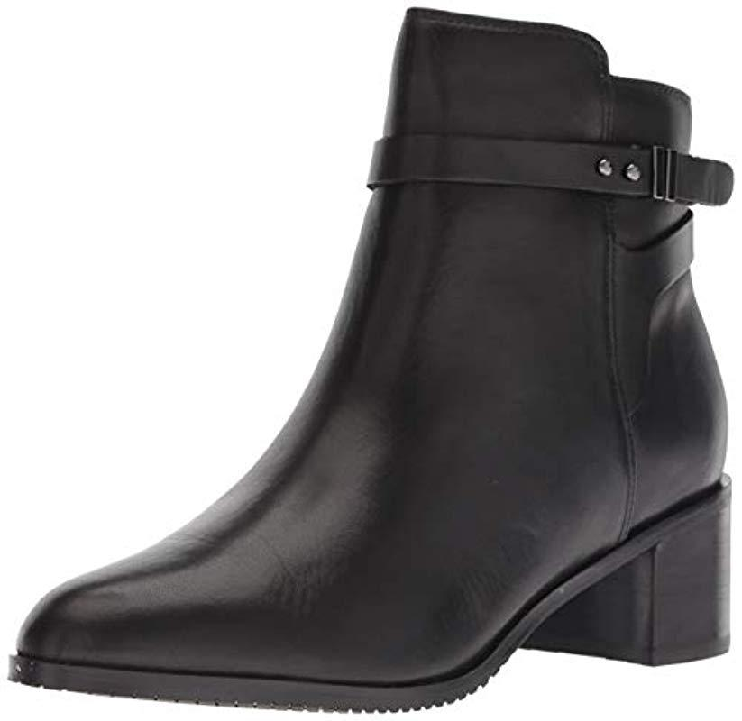 48529c49b4e Women's New Poise Freya Ankle Boot Black Leather 8