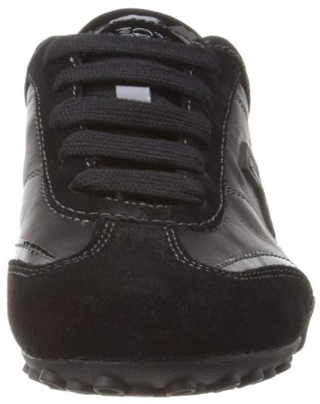 Geox D Snake X Low-top Trainers in Black