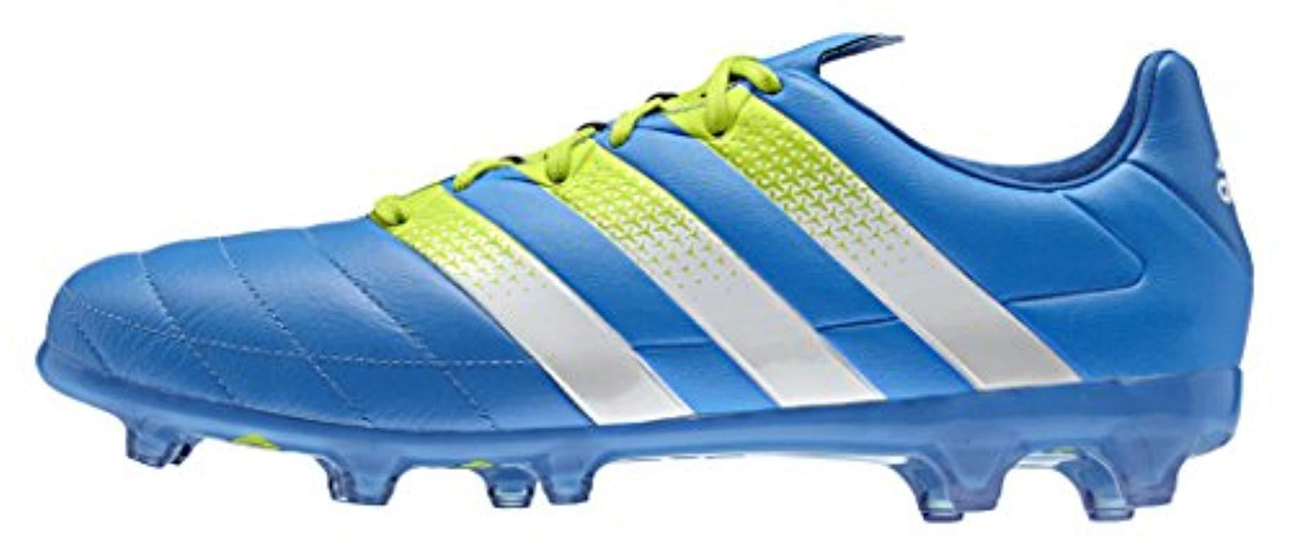 534490673f60 adidas. Men s Blue Ace 16.2 Fg ag Leather Football ...