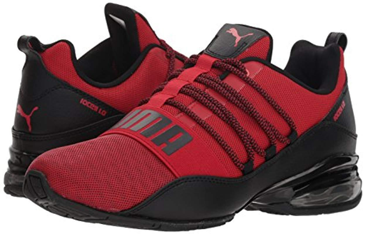 PUMA Cell Regulate Krm Sneaker in Red