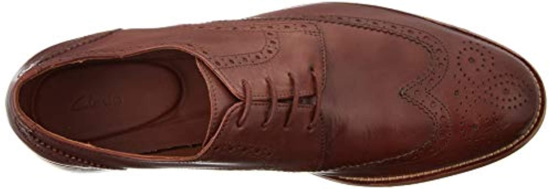 todo lo mejor Resplandor tenis  Clarks James Wing British Tan Leather in Brown for Men - Lyst