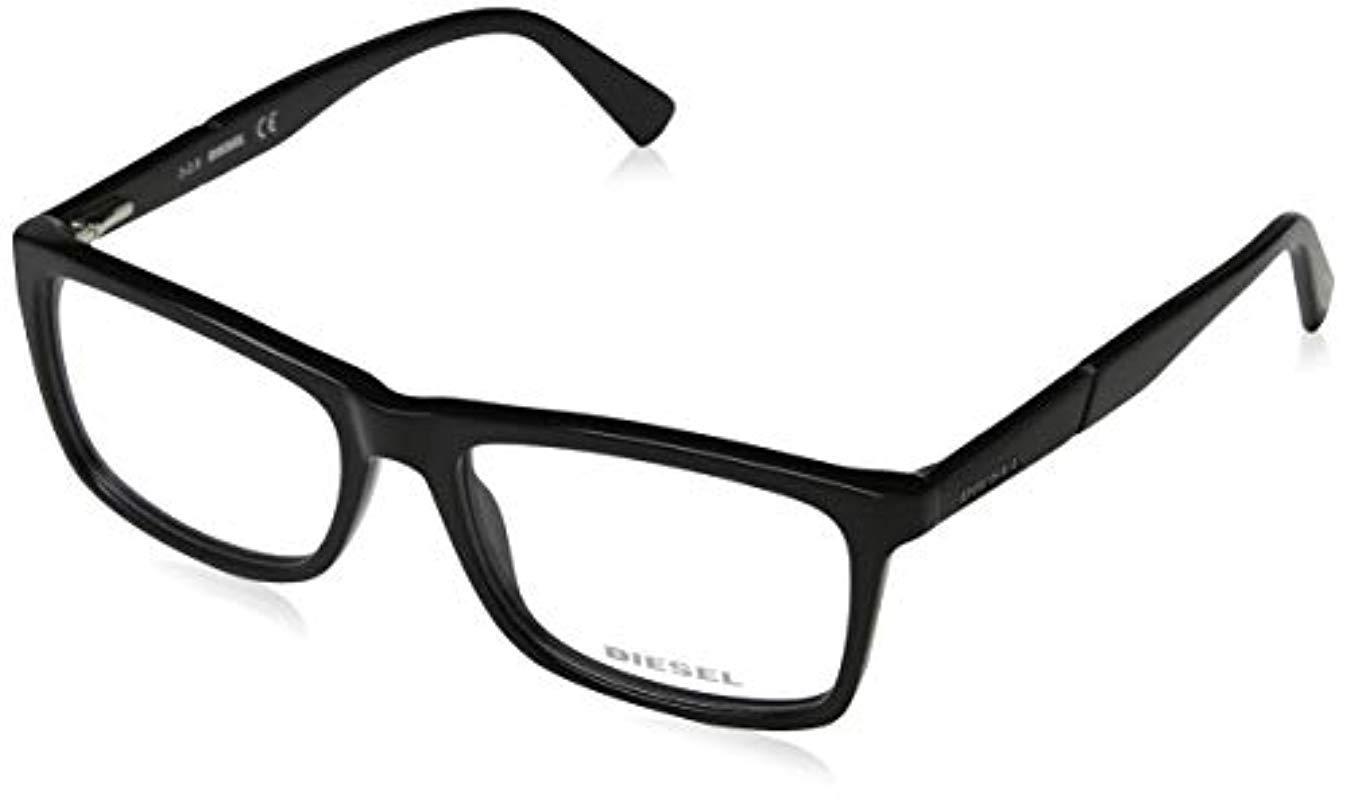 bac294f2c0f DIESEL Unisex Adults  Dl5238 Optical Frames