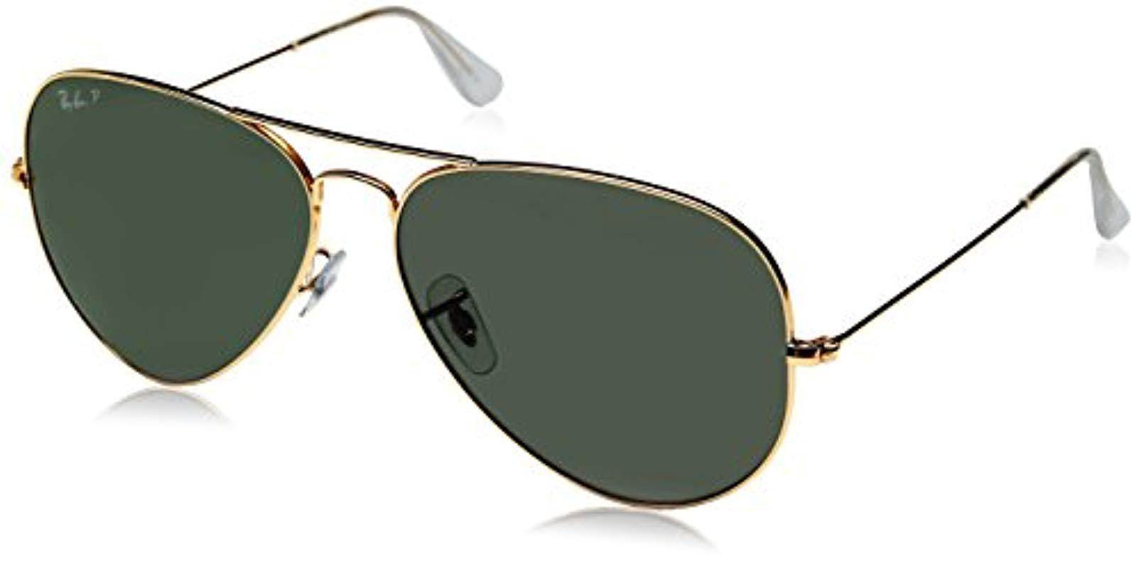 Ray-Ban Rayban Aviator With Gold Mirror Lense And Gold Frame Unisex ... 8065b515e6f8