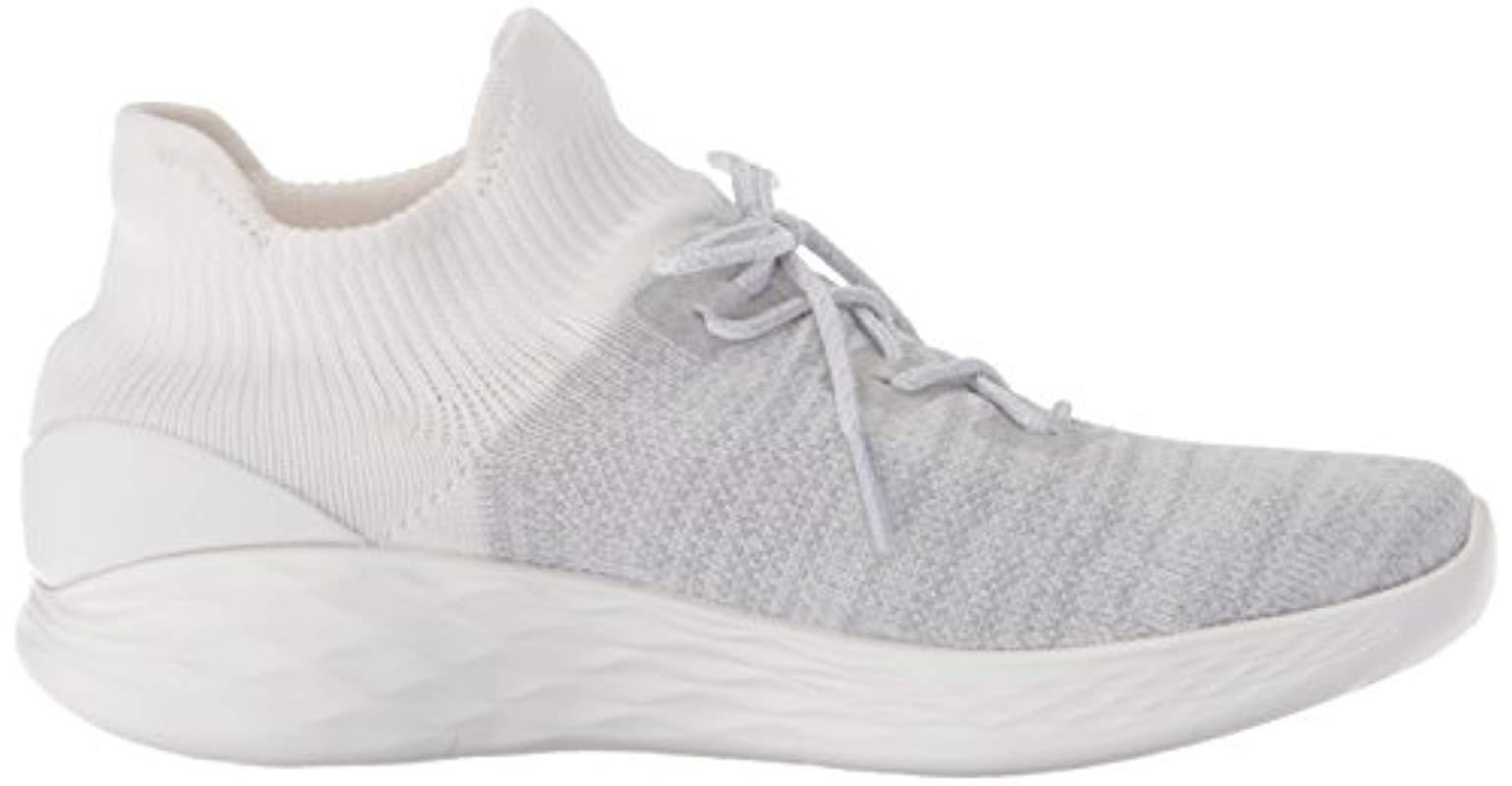 Skechers Lace You-14966 Sneaker in White