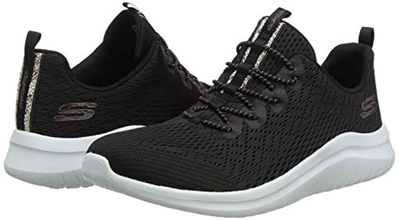Ultra Flex 2.0-Lite-Groove Skechers de color Negro