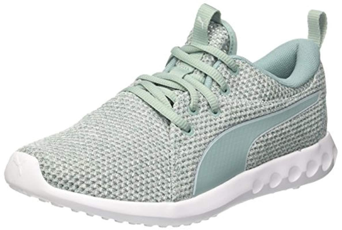 69149820a86d70 PUMA Carson 2 Nature Knit Women s Running Shoes in Blue - Save 58 ...