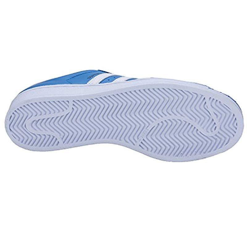 Basket Superstar S75880 Blanc/Noir Cuir adidas pour homme en coloris Bleu J6he