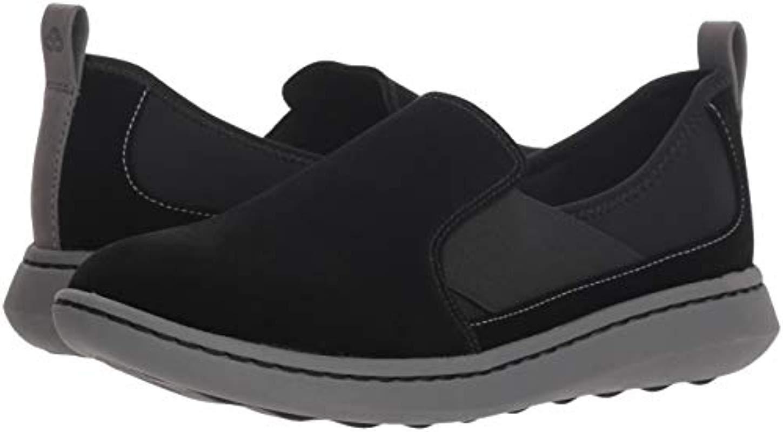 Clarks Denim Step Move Jump Sneaker in Black