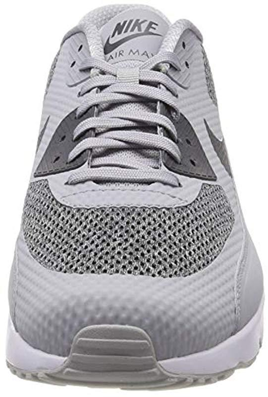 75d6e85d1f Nike 's Air Max 90 Ultra 2.0 Essential Sneaker Low Neck in Gray for ...