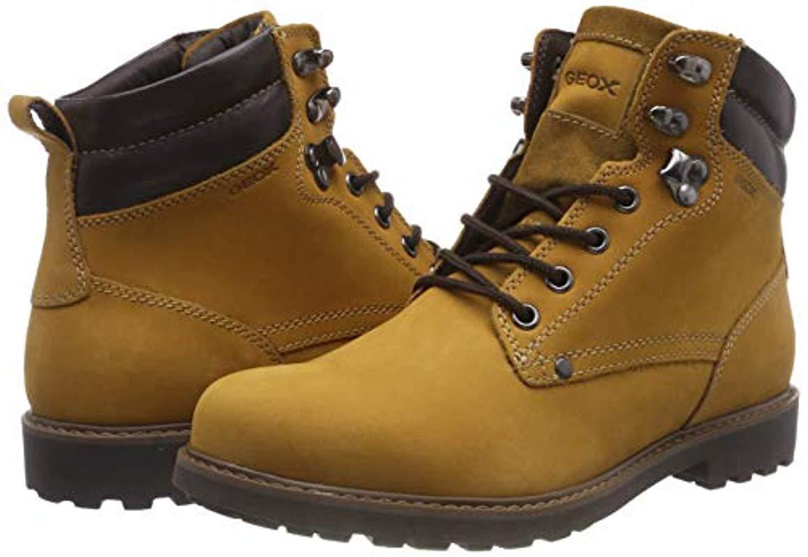 cc94c711 Geox U Norwolk B Chukka Boots for Men - Lyst