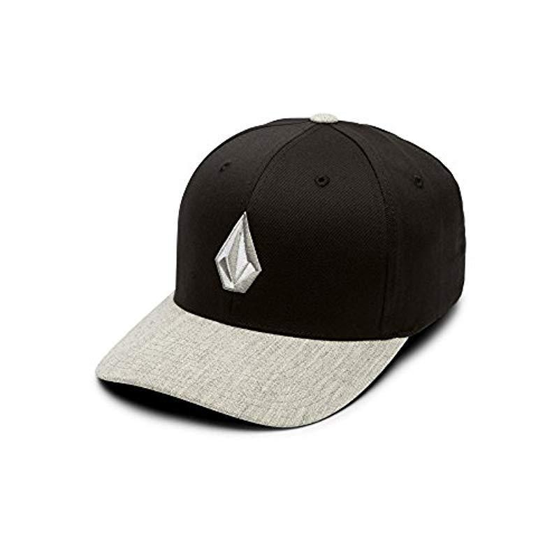 c8408ea86a919 Lyst - Volcom Full Stone Flexfit Hat in Black for Men - Save 5%