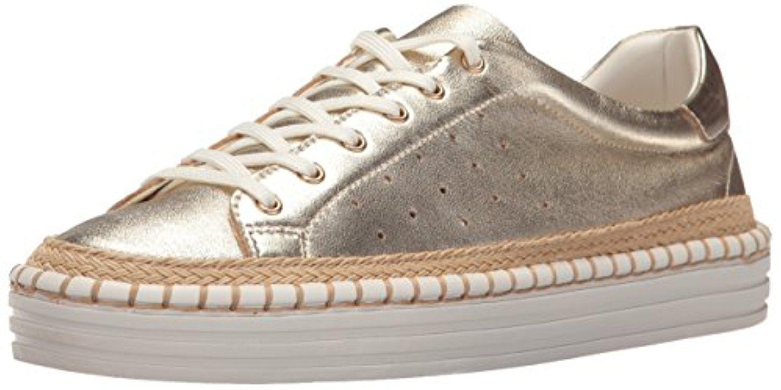 3ad0e0774a22 Lyst - Sam Edelman Kavi Sneaker in Metallic