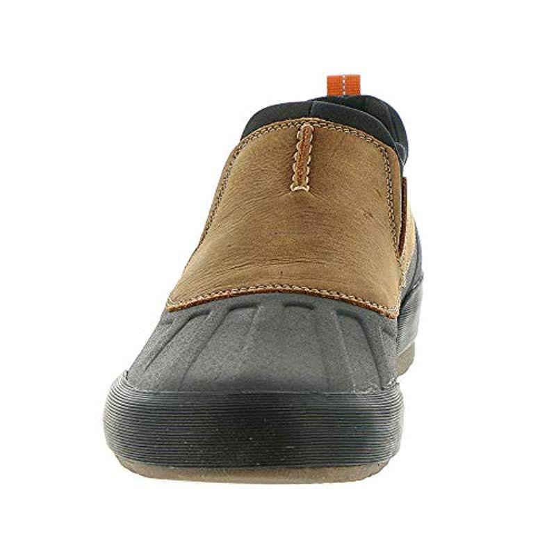 CLARKS Mens Bowman Free Rain Shoe