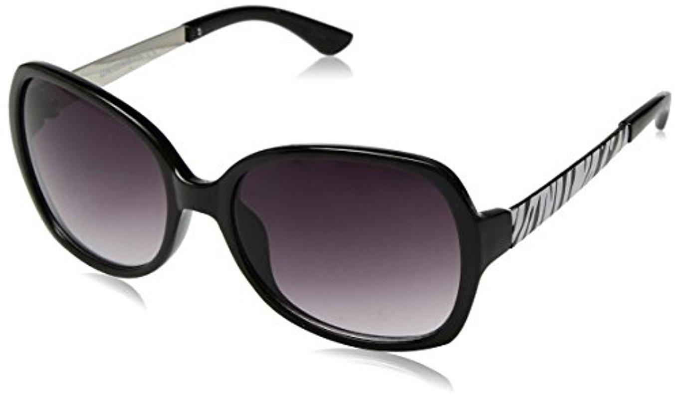 8bedd525ab Lyst - Sam Edelman Union Bay U275 Oxan Square Sunglasses in Black