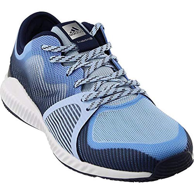 pretty nice bd690 aea48 adidas. Women s Blue Performance Crazytrain Bounce W Cross-trainer Shoe