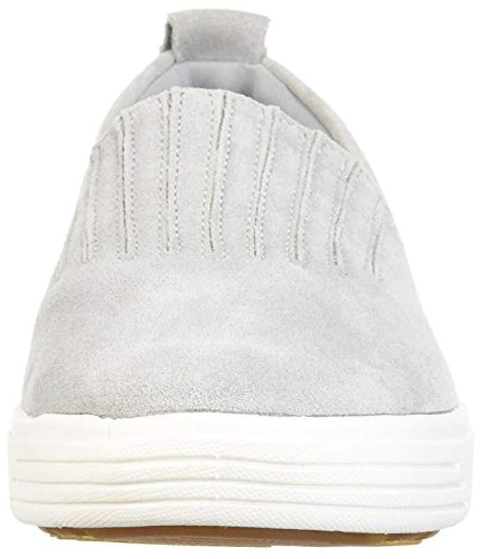 Skechers Comfort Europa-gored Slip-on Sneaker in Grey (Grey)