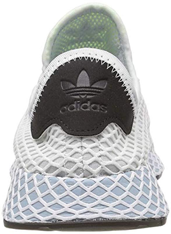 7083a5facf756 Adidas - Blue Deerupt Runner W Running Shoes - Lyst. View fullscreen