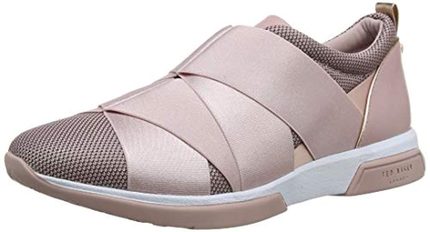 9356191758745 Ted Baker Pink Queanem Trainers