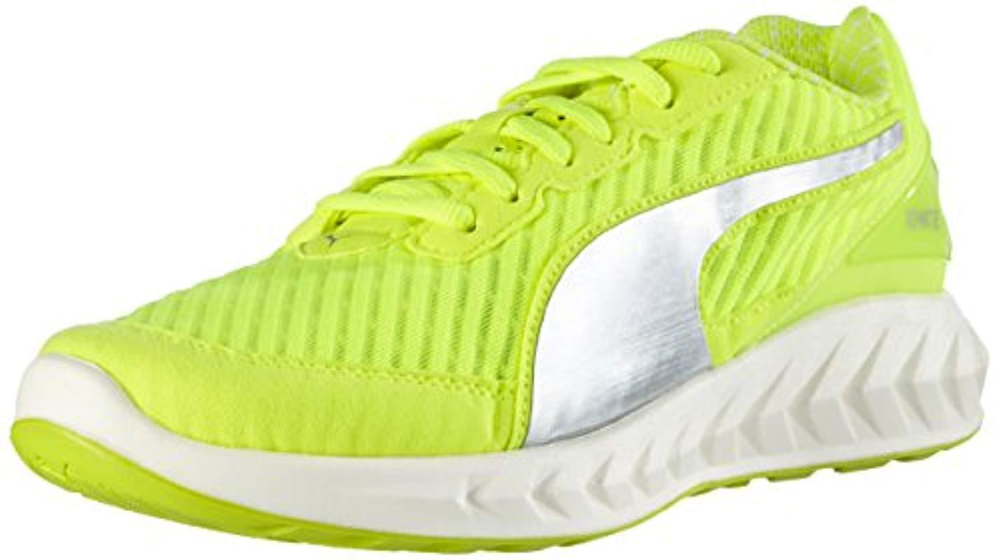 f89e054b9a9991 Puma Ignite Ultimate Pwrcool Wn s Running Shoes in Yellow - Lyst