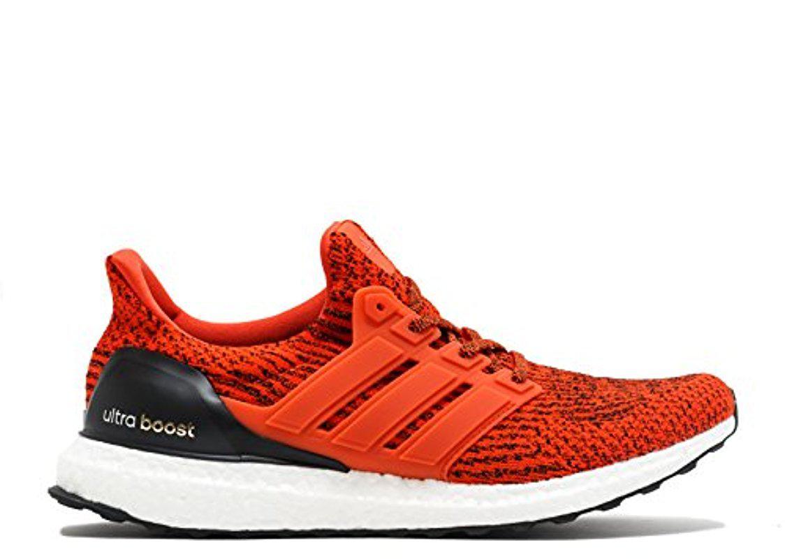 90d1b182fb8c3 Adidas - Red Performance Ultra Boost M Running Shoe for Men - Lyst. View  fullscreen