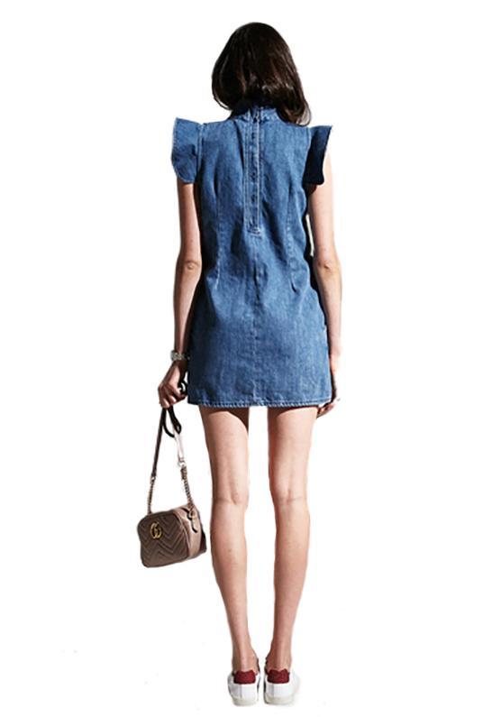 523c69ddaa6 Mcguire - Blue Sorbonne Mini Dress In Josephine - Lyst. View fullscreen