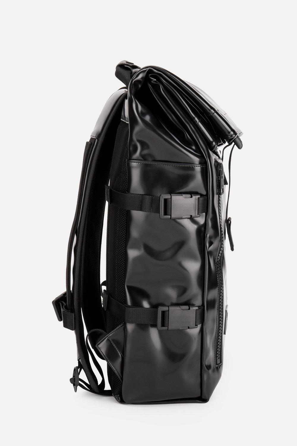 Ami Roll Top Backpack in Black for Men - Lyst 16382da949