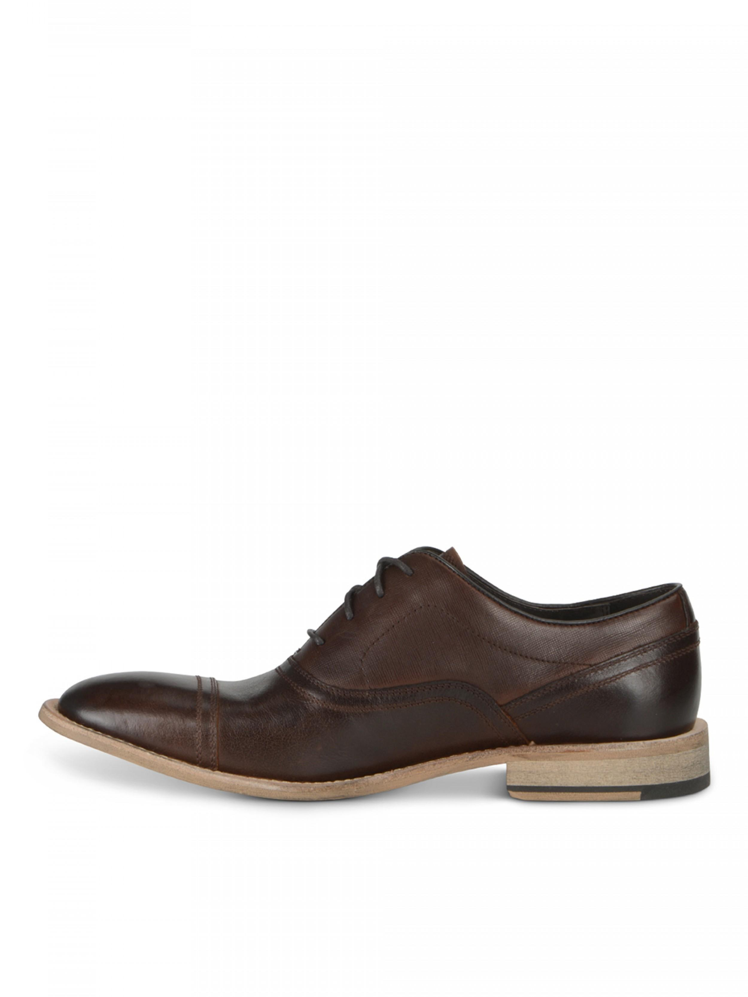 Andrew Hill Brown Leather Dress Shoes