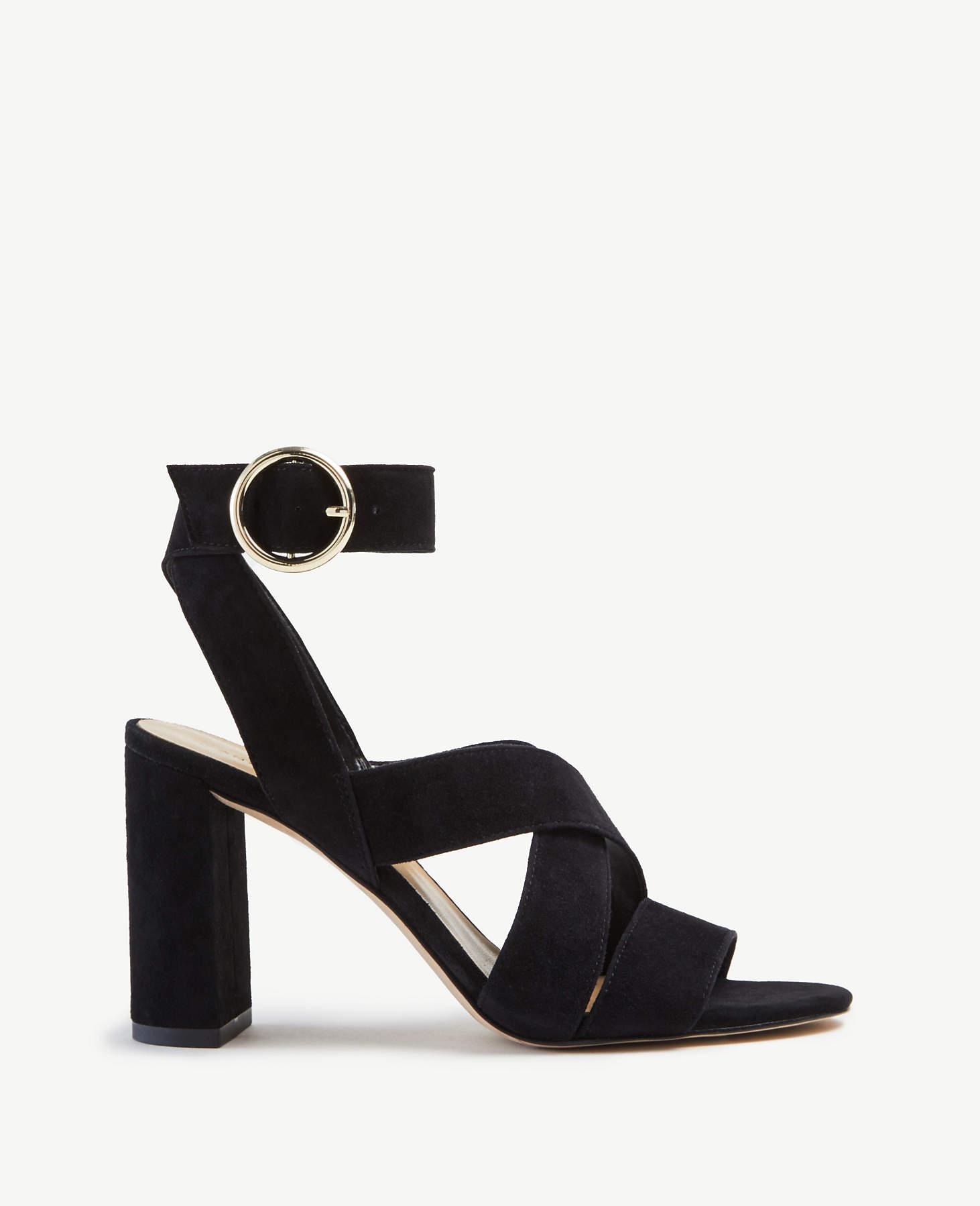 KEREE Womens High Heel Wedge Sandals Open Toe Slip On Embroidered Rose Flower Chunky Platform Slide Sandal