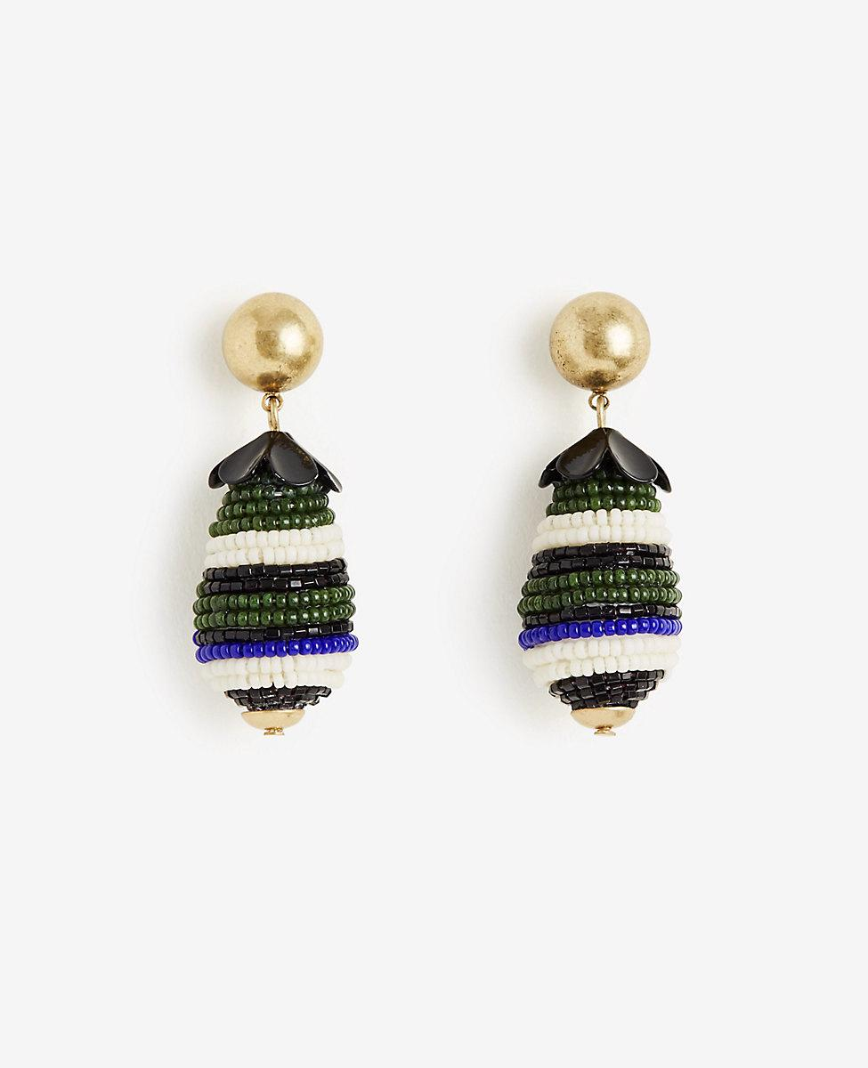 ANN TAYLOR Seed Bead Drop Earrings xXQWzdjK