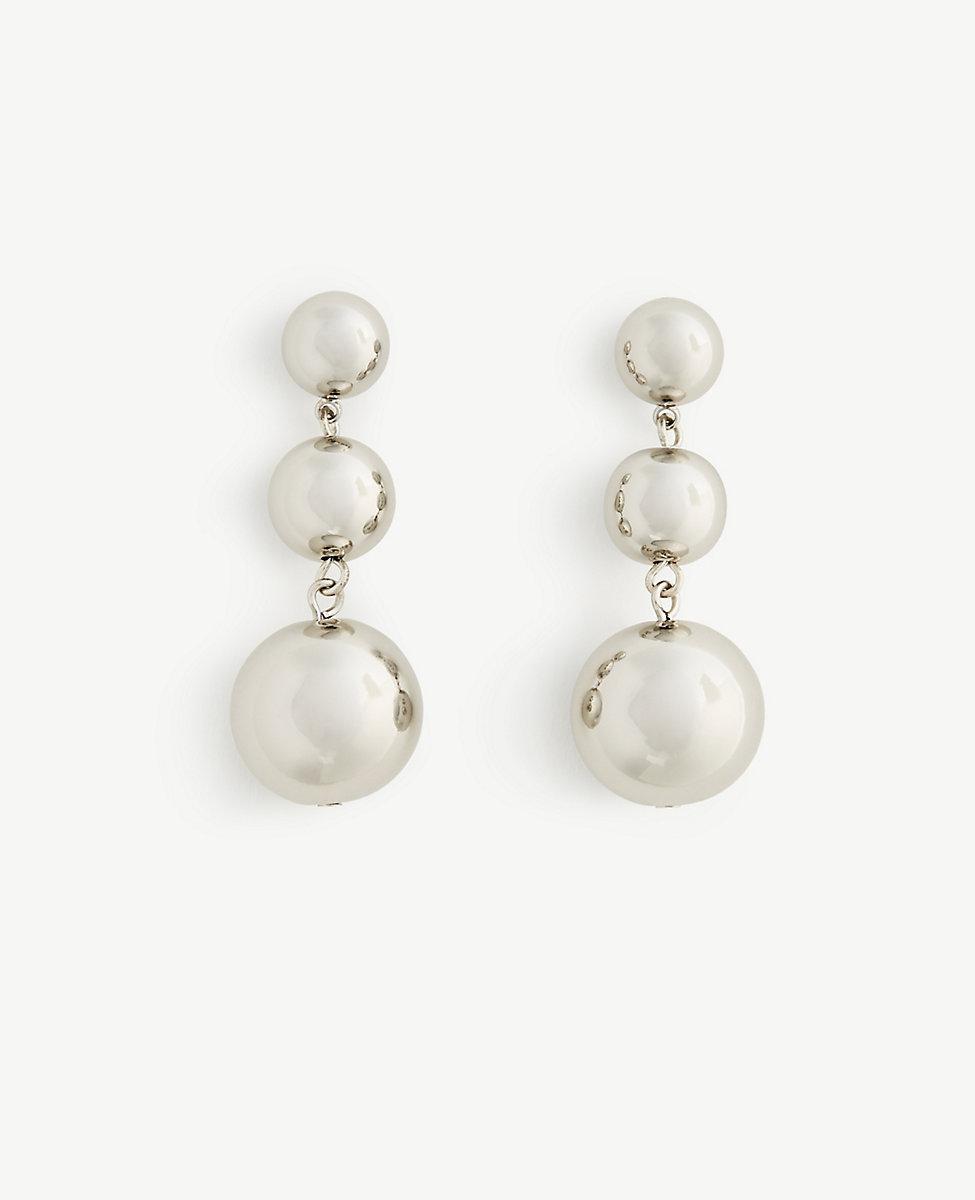ANN TAYLOR Ball Drop Earrings dBcHhT9