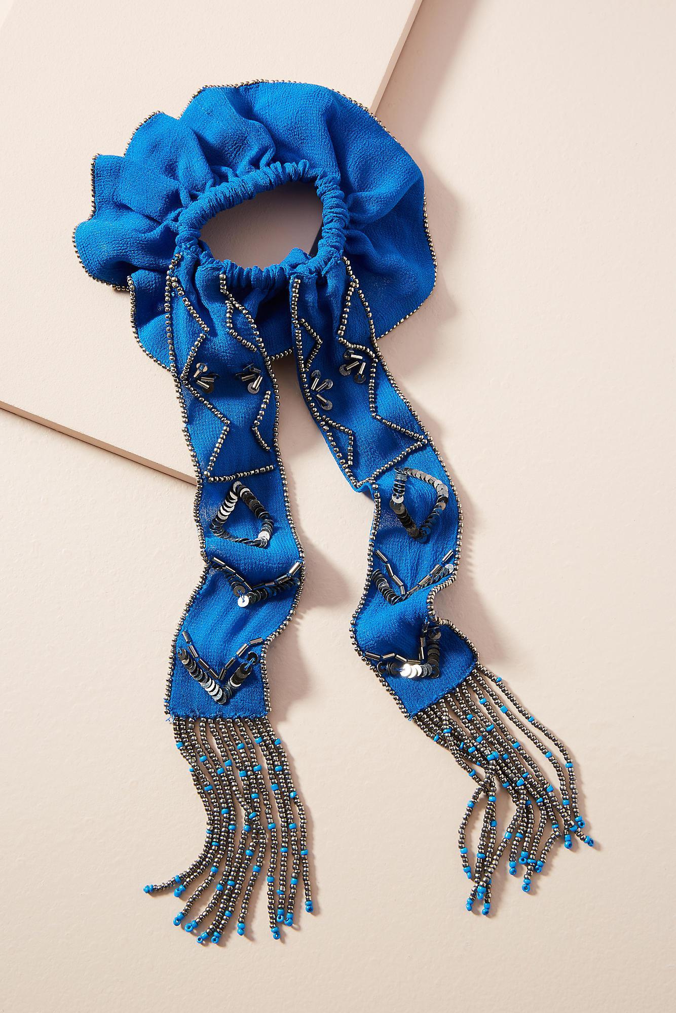 Anthropologie Painterly Scarf Hair Tie 2mdQRXf2Y