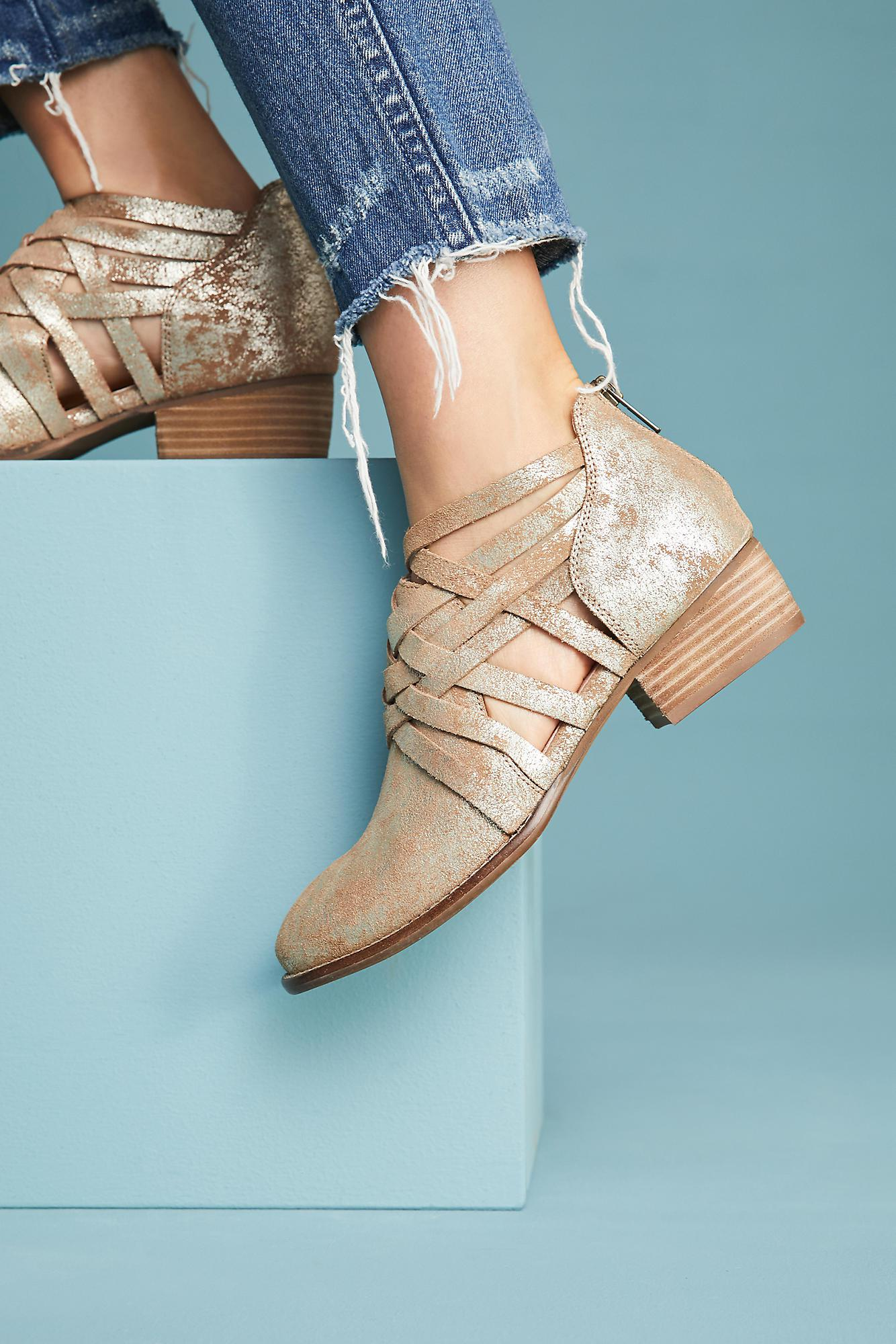 Anthropologie Leather Seychelles So