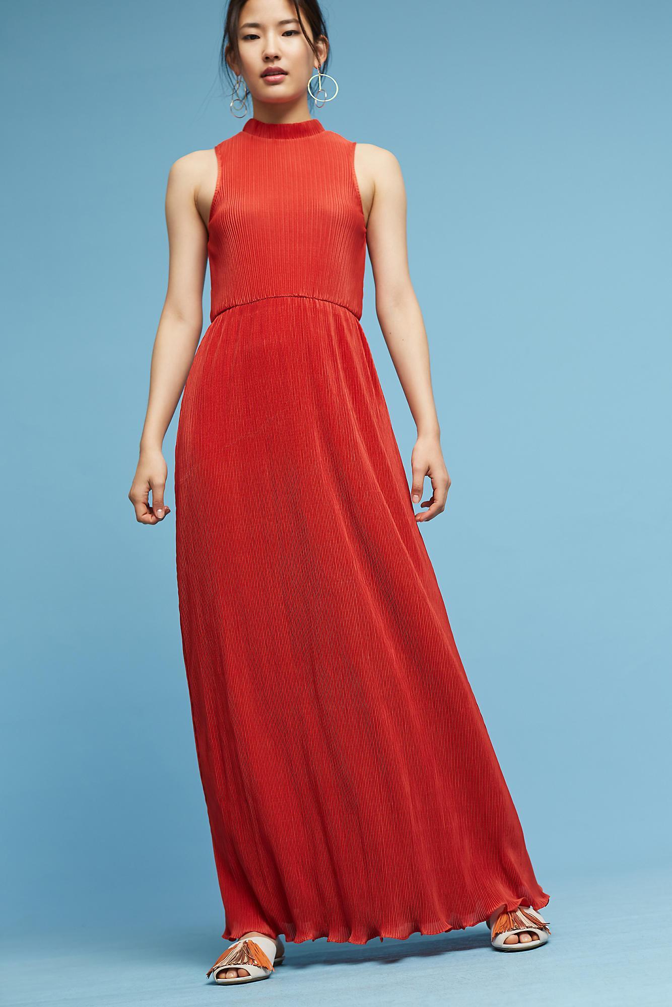 Lyst - Sunday In Brooklyn Avida Maxi Dress in Red